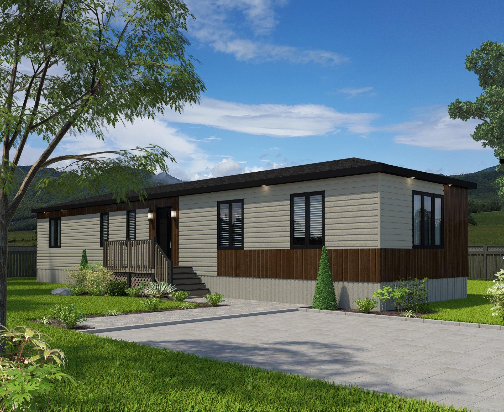 Les maisons ouellet projets domiciliaires for Maison unimodulaire prix